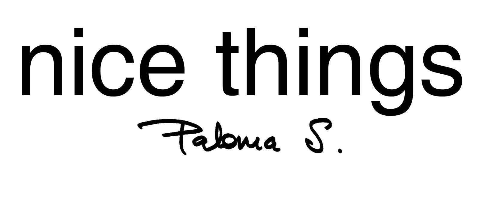 Nice Things Paloma S.